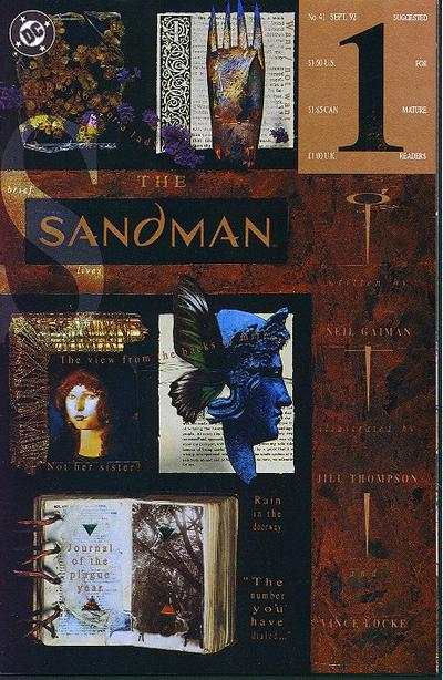 Sandman #41 comic books - cover scans photos Sandman #41 comic books - covers, picture gallery