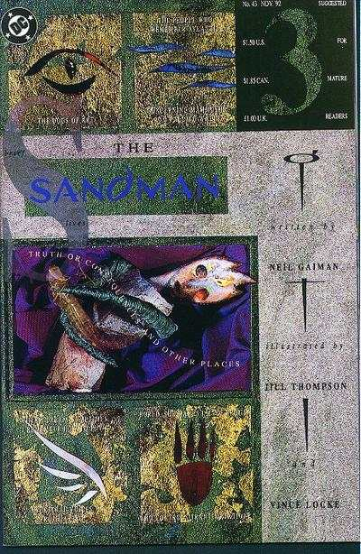 Sandman #43 comic books - cover scans photos Sandman #43 comic books - covers, picture gallery