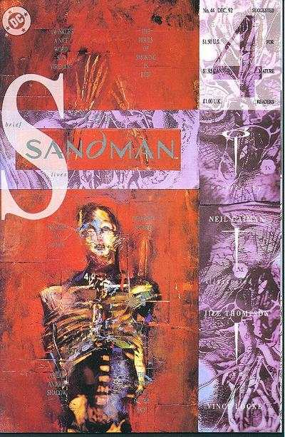 Sandman #44 comic books - cover scans photos Sandman #44 comic books - covers, picture gallery