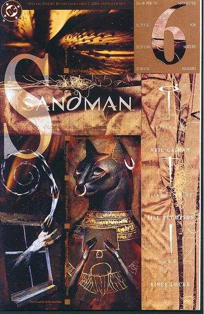 Sandman #46 comic books - cover scans photos Sandman #46 comic books - covers, picture gallery