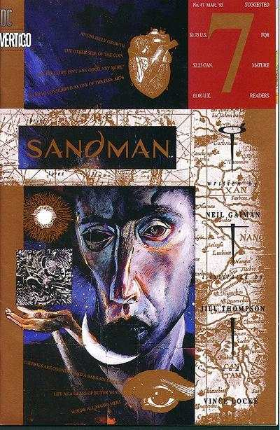 Sandman #47 comic books - cover scans photos Sandman #47 comic books - covers, picture gallery