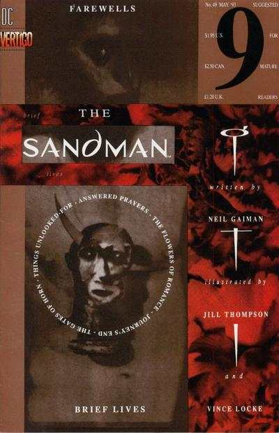 Sandman #49 comic books - cover scans photos Sandman #49 comic books - covers, picture gallery