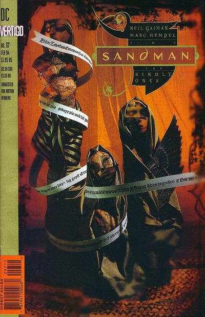 Sandman #57 comic books - cover scans photos Sandman #57 comic books - covers, picture gallery