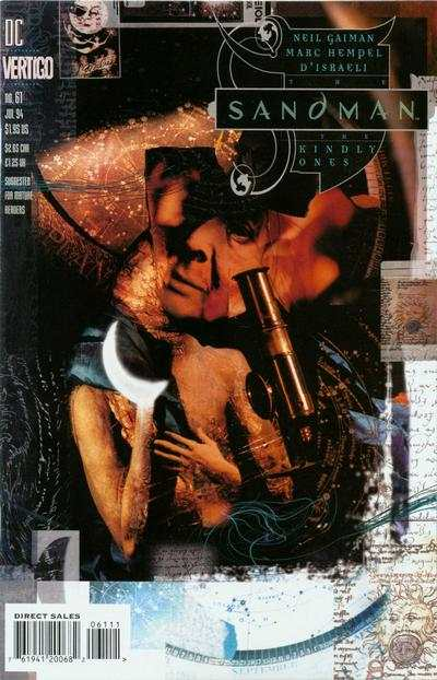 Sandman #61 comic books - cover scans photos Sandman #61 comic books - covers, picture gallery