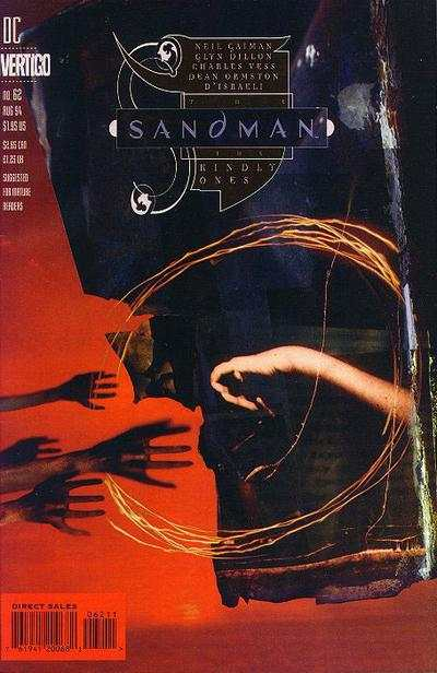 Sandman #62 comic books - cover scans photos Sandman #62 comic books - covers, picture gallery