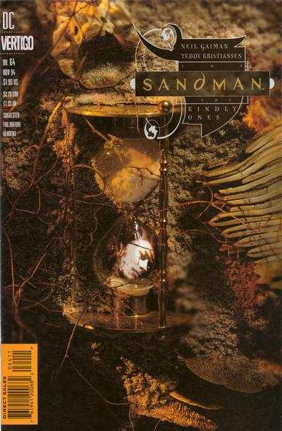 Sandman #64 comic books - cover scans photos Sandman #64 comic books - covers, picture gallery