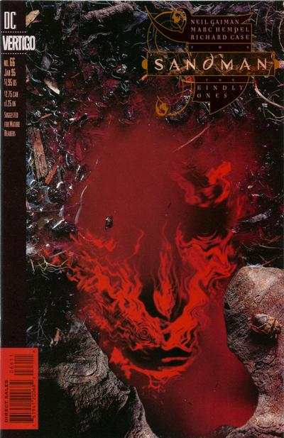 Sandman #66 comic books - cover scans photos Sandman #66 comic books - covers, picture gallery