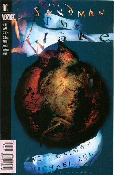 Sandman #71 comic books - cover scans photos Sandman #71 comic books - covers, picture gallery