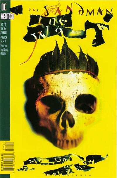 Sandman #73 comic books for sale