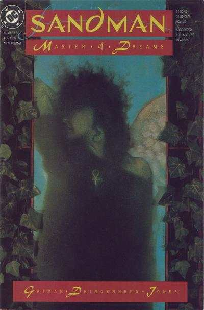 Sandman #8 comic books - cover scans photos Sandman #8 comic books - covers, picture gallery