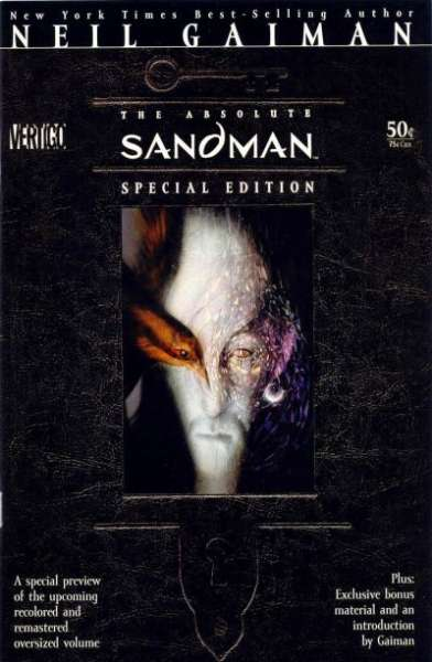 Sandman #1 comic books - cover scans photos Sandman #1 comic books - covers, picture gallery
