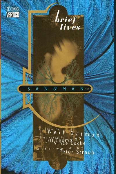 Sandman: Brief Lives - Hardcover #1 comic books - cover scans photos Sandman: Brief Lives - Hardcover #1 comic books - covers, picture gallery