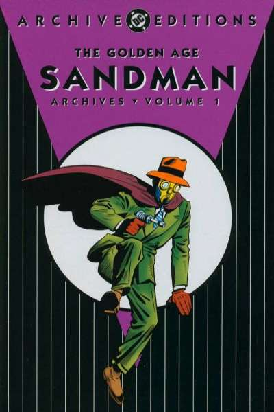 Sandman Golden Age Archives - Hardcover #1 comic books - cover scans photos Sandman Golden Age Archives - Hardcover #1 comic books - covers, picture gallery