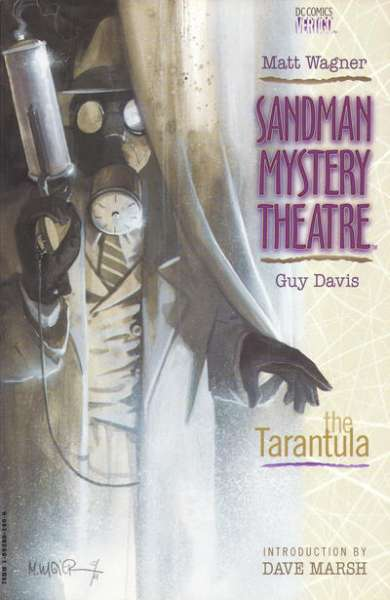Sandman Mystery Theatre #1 comic books - cover scans photos Sandman Mystery Theatre #1 comic books - covers, picture gallery