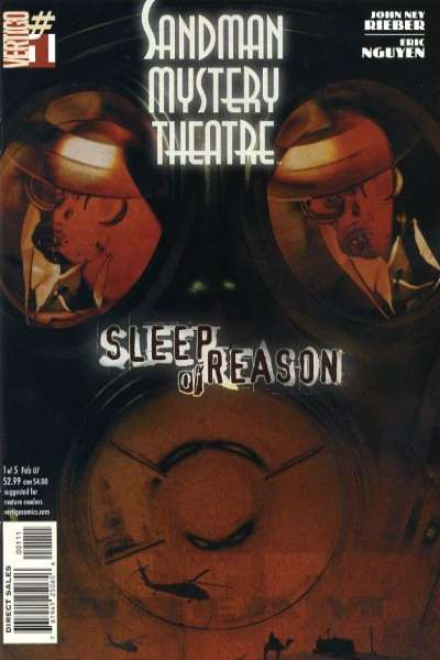 Sandman Mystery Theatre: Sleep of Reason #1 comic books - cover scans photos Sandman Mystery Theatre: Sleep of Reason #1 comic books - covers, picture gallery