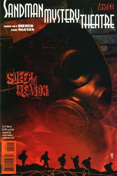 Sandman Mystery Theatre: Sleep of Reason #2 comic books - cover scans photos Sandman Mystery Theatre: Sleep of Reason #2 comic books - covers, picture gallery