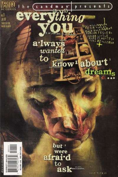 Sandman Presents: Everything You Always Wanted to Know About Dreams but Were Afraid to Ask comic books