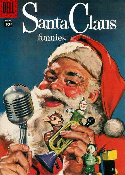 Santa Claus Funnies #15 comic books - cover scans photos Santa Claus Funnies #15 comic books - covers, picture gallery