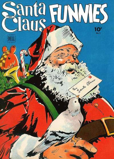 Santa Claus Funnies #2 comic books for sale