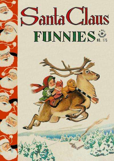 Santa Claus Funnies #6 comic books - cover scans photos Santa Claus Funnies #6 comic books - covers, picture gallery