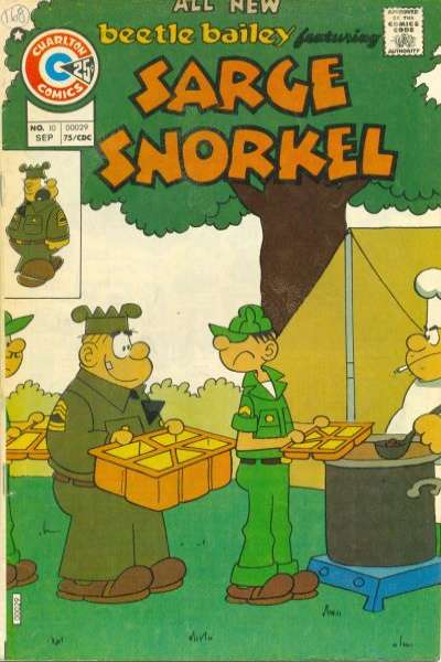Sarge Snorkel #10 comic books for sale