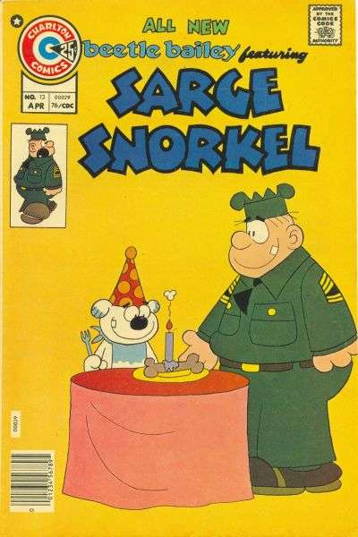 Sarge Snorkel #13 Comic Books - Covers, Scans, Photos  in Sarge Snorkel Comic Books - Covers, Scans, Gallery