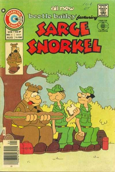 Sarge Snorkel #15 Comic Books - Covers, Scans, Photos  in Sarge Snorkel Comic Books - Covers, Scans, Gallery