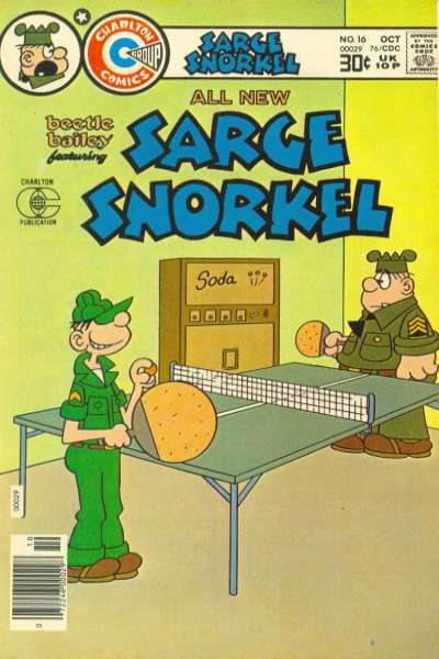 Sarge Snorkel #16 Comic Books - Covers, Scans, Photos  in Sarge Snorkel Comic Books - Covers, Scans, Gallery