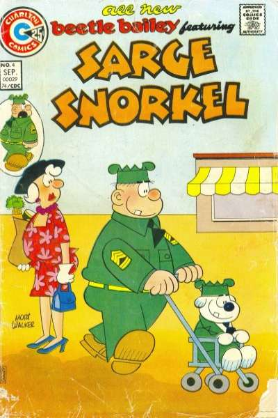 Sarge Snorkel #4 Comic Books - Covers, Scans, Photos  in Sarge Snorkel Comic Books - Covers, Scans, Gallery