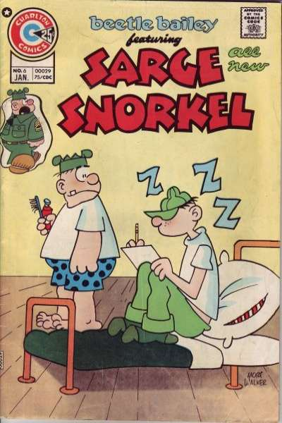 Sarge Snorkel #6 Comic Books - Covers, Scans, Photos  in Sarge Snorkel Comic Books - Covers, Scans, Gallery