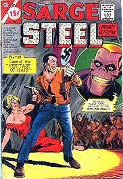 Sarge Steel #3 Comic Books - Covers, Scans, Photos  in Sarge Steel Comic Books - Covers, Scans, Gallery