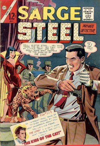 Sarge Steel #4 Comic Books - Covers, Scans, Photos  in Sarge Steel Comic Books - Covers, Scans, Gallery