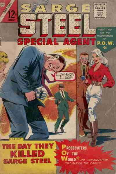 Sarge Steel #7 Comic Books - Covers, Scans, Photos  in Sarge Steel Comic Books - Covers, Scans, Gallery