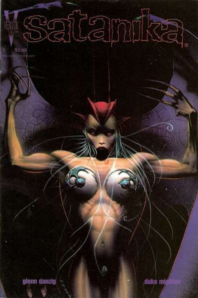 Satanika #1 comic books - cover scans photos Satanika #1 comic books - covers, picture gallery