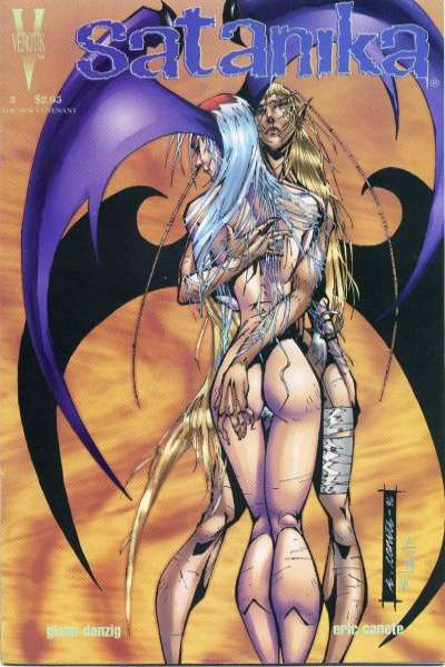 Satanika #3 comic books for sale