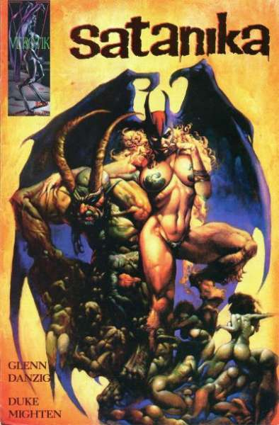 Satanika #1 Comic Books - Covers, Scans, Photos  in Satanika Comic Books - Covers, Scans, Gallery