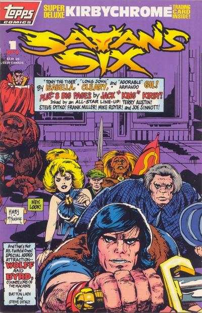 Satan's Six Comic Books. Satan's Six Comics.