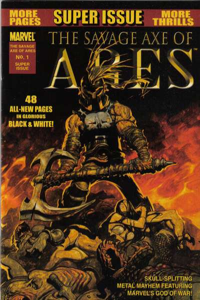 Savage Axe of Ares #1 comic books - cover scans photos Savage Axe of Ares #1 comic books - covers, picture gallery