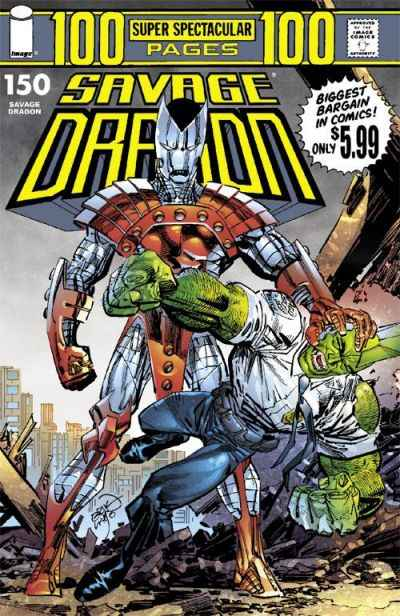 Savage Dragon #150 Comic Books - Covers, Scans, Photos  in Savage Dragon Comic Books - Covers, Scans, Gallery
