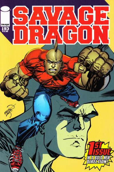 Savage Dragon #193 Comic Books - Covers, Scans, Photos  in Savage Dragon Comic Books - Covers, Scans, Gallery