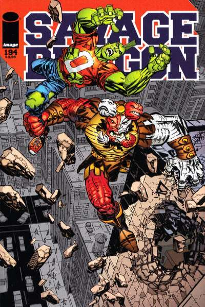 Savage Dragon #194 Comic Books - Covers, Scans, Photos  in Savage Dragon Comic Books - Covers, Scans, Gallery