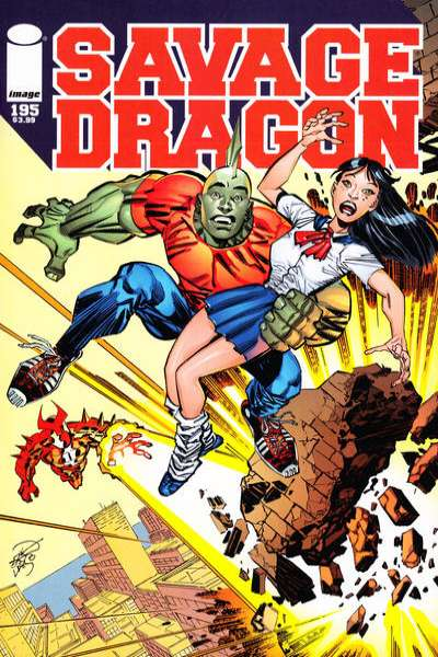Savage Dragon #195 Comic Books - Covers, Scans, Photos  in Savage Dragon Comic Books - Covers, Scans, Gallery
