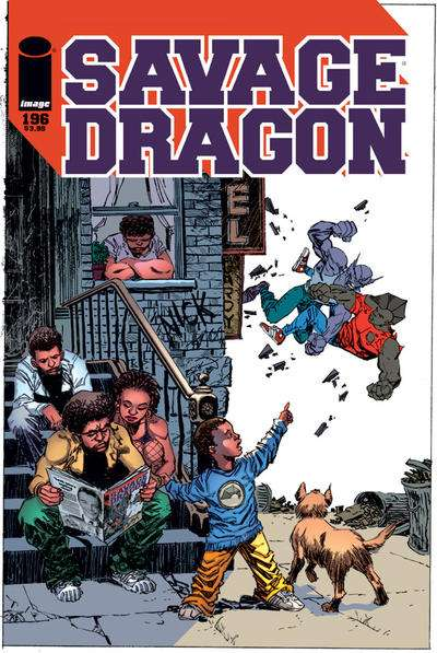 Savage Dragon #196 Comic Books - Covers, Scans, Photos  in Savage Dragon Comic Books - Covers, Scans, Gallery