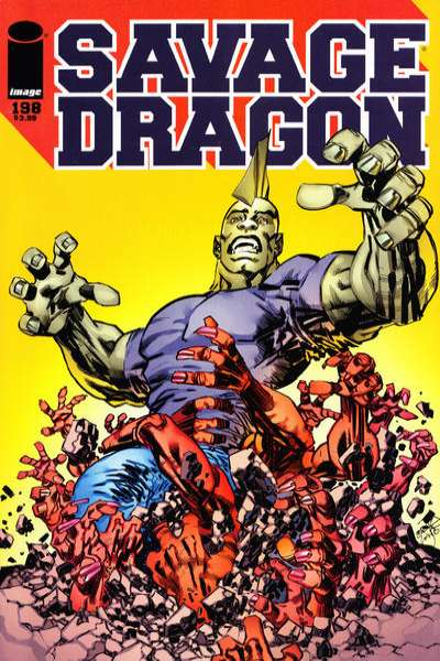 Savage Dragon #198 comic books for sale
