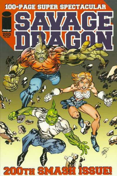 Savage Dragon #200 comic books for sale