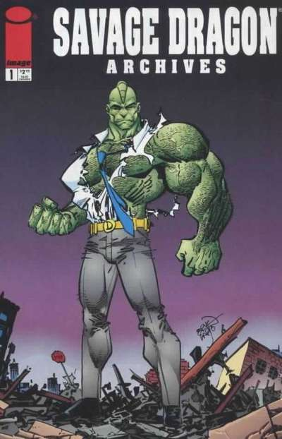 Savage Dragon Archives comic books