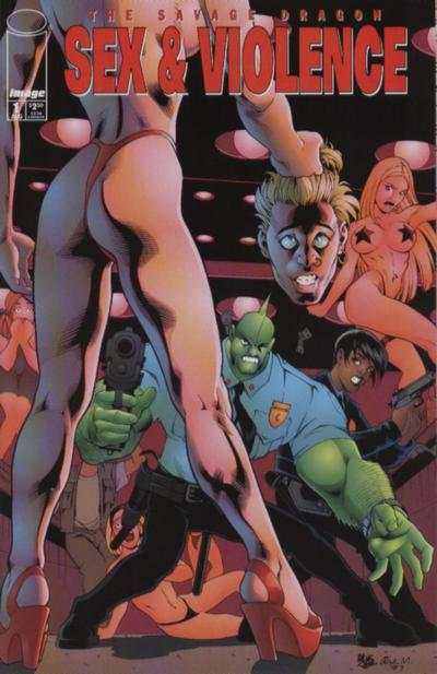 Savage Dragon: Sex & Violence #1 comic books - cover scans photos Savage Dragon: Sex & Violence #1 comic books - covers, picture gallery