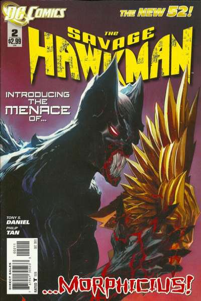 Savage Hawkman #2 comic books for sale