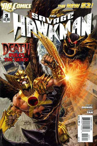 Savage Hawkman #3 comic books - cover scans photos Savage Hawkman #3 comic books - covers, picture gallery