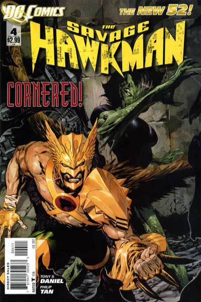 Savage Hawkman #4 comic books - cover scans photos Savage Hawkman #4 comic books - covers, picture gallery